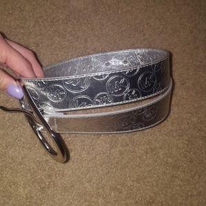 Silver Michael Kors Belt